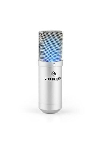 Auna USB Kondensator Mikrofon inkl. Mikrofonspinne Niere Studio kaufen
