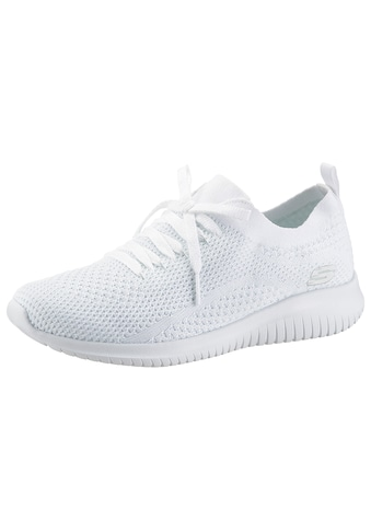 Skechers Slip-On Sneaker »ULTRA FLEX«, in Strick-Optik kaufen