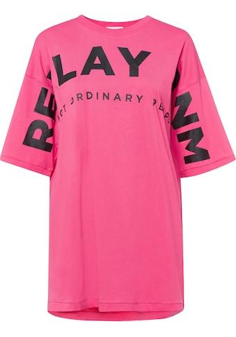 Replay Longshirt, mit plakativem Labelprint kaufen