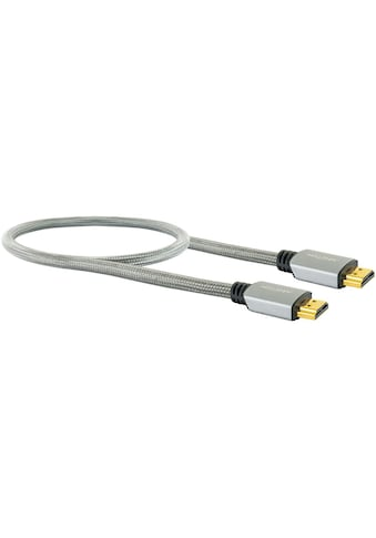 Schwaiger Highspeed HDMI Kabel mit Ethernet, 4K, Full HD, 3D, Ultra HD UHD »mit Knickschutz« kaufen