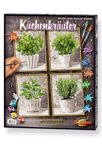 """Schipper Malen nach Zahlen """"Meisterklasse Quattro  -  Küchenkräuter"""" kaufen"""