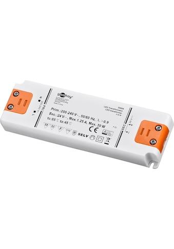 Goobay LED-Trafo 24 V (DC) / 30 W kaufen