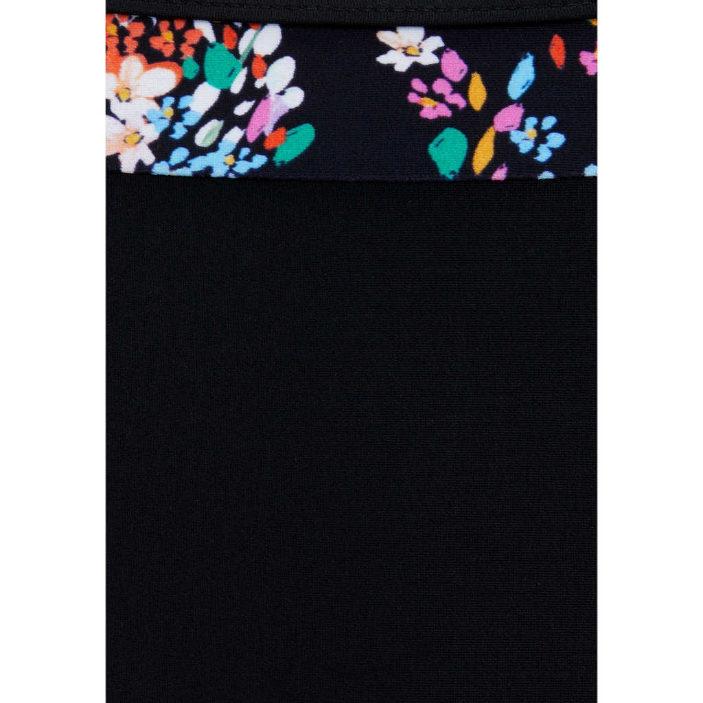 petite fleur Bügel-Bikini, mit floralem Print