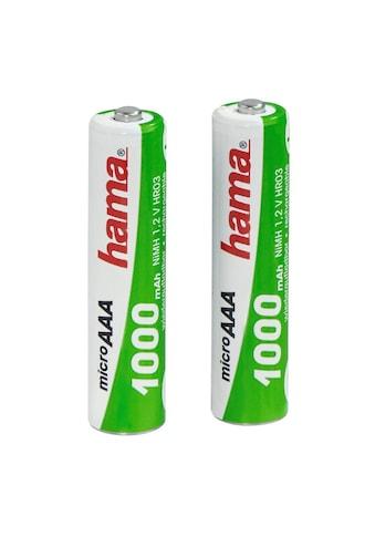 Hama NiMH-Akkus Ready4Power, 2x AAA (Micro - HR03) 1000 mAh kaufen