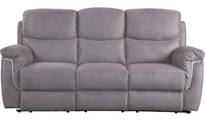ATLANTIC home collection 3-Sitzer, mit LED Beleuchtung und Relaxfunktion mit... kaufen
