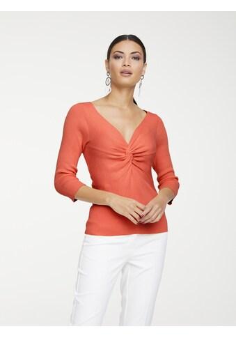 Pullover mit modischem Ausschnitt kaufen