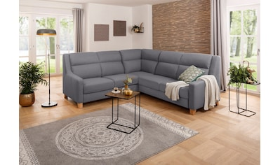 Premium collection by Home affaire Ecksofa »Alrik«, gleichschenklige Polsterecke, mit Schlaffunktion und Bettkasten, extra hoher Rücken kaufen