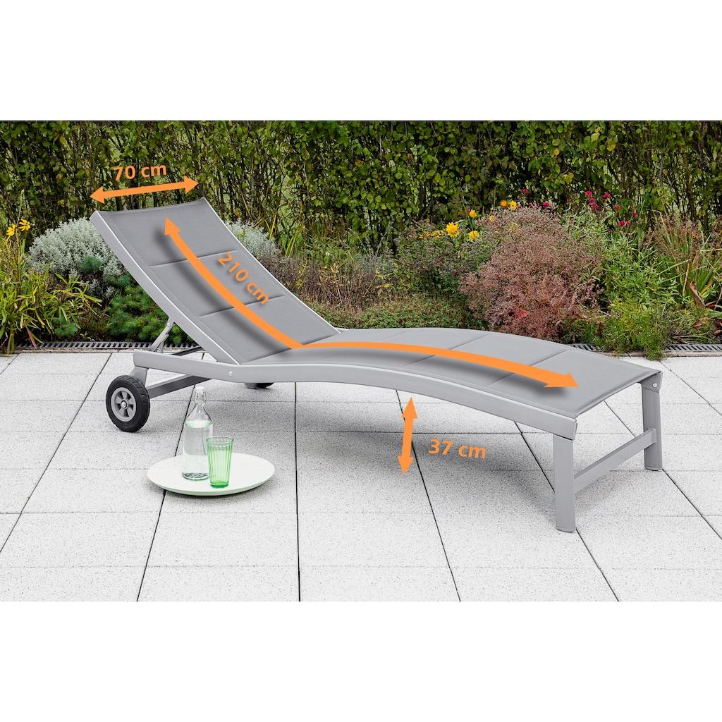 MERXX Gartenliege »San Marino«, Aluminium