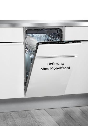 BEKO vollintegrierbarer Geschirrspüler »DIS48125«, DIS48125, 11 Maßgedecke, mit GlassPerfect kaufen