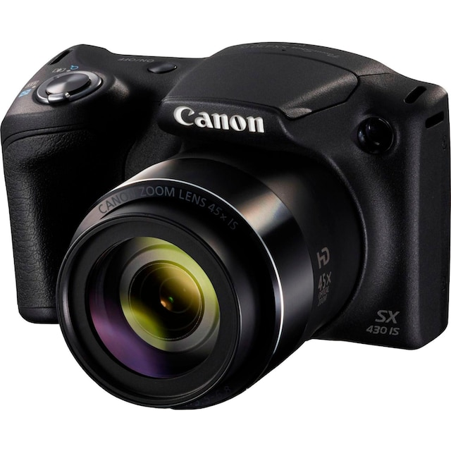 Canon »PowerShot SX430 IS« Bridge-Kamera (20 MP, 45x opt. Zoom, NFC WLAN (Wi-Fi))