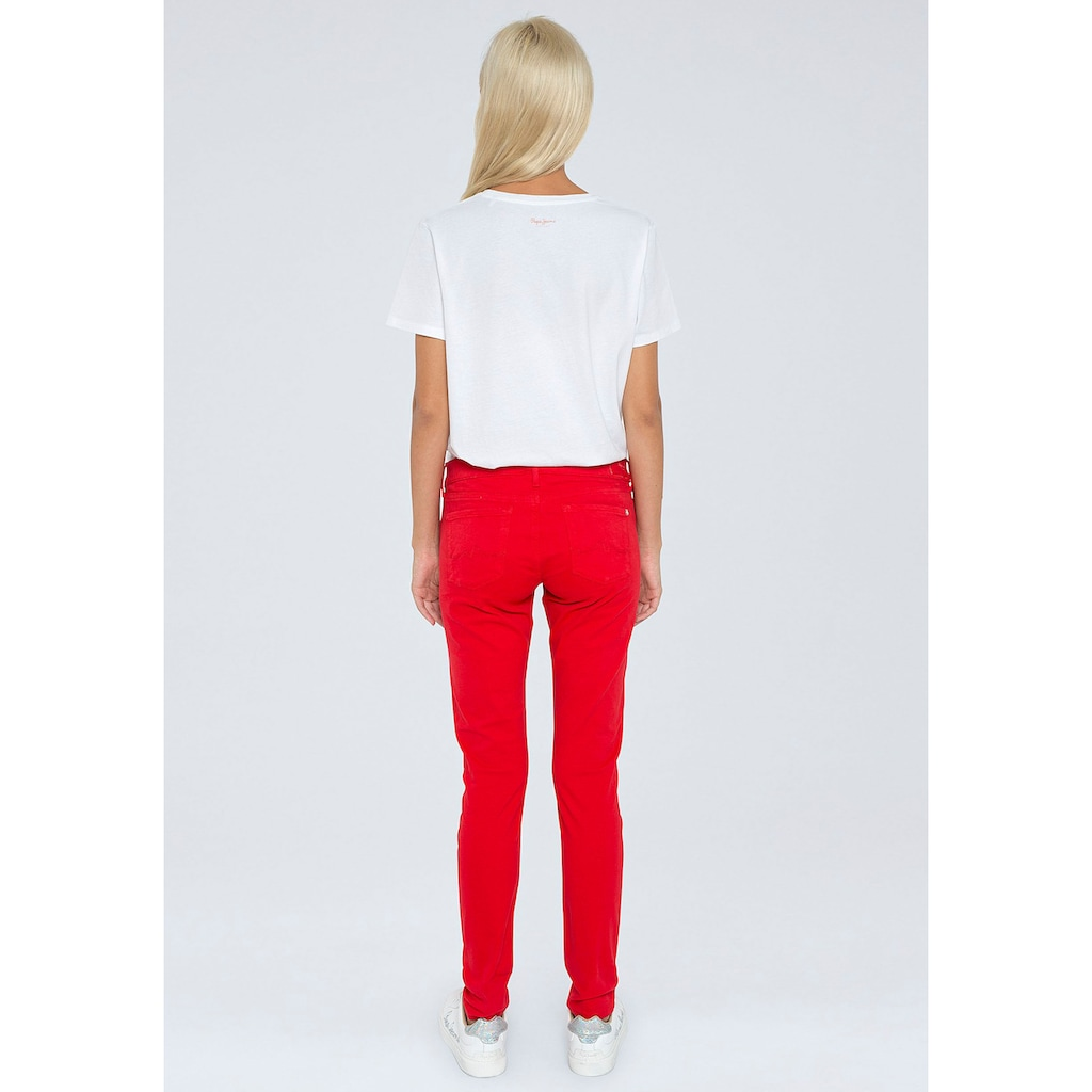Pepe Jeans Stretch-Hose »SOHO«, in enger 5-Pocket-Passform