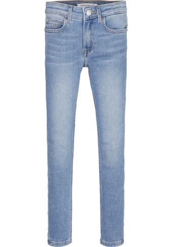 Calvin Klein Jeans Stretch-Jeans, mit Logo-Label kaufen