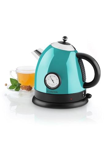 Klarstein Wasserkocher Teekessel 1,5l 2200W Thermometer kaufen