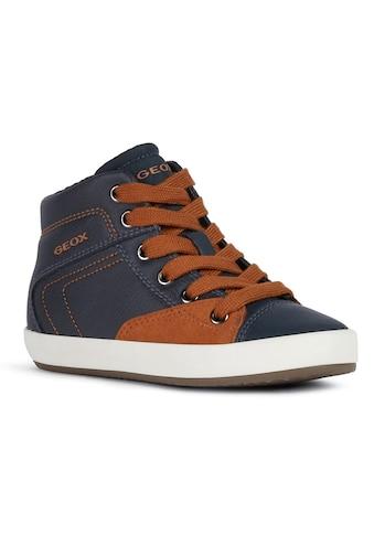 Geox Kids Sneaker »GISLI BOY«, mit zusätzlichem Reißverschluss kaufen