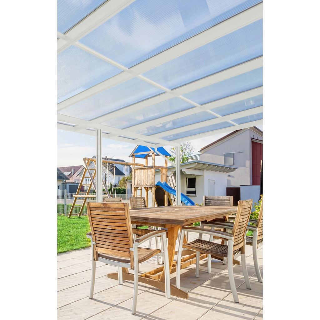 GUTTA Terrassendach »Premium«, BxT: 611x406 cm, Dach Acryl klar