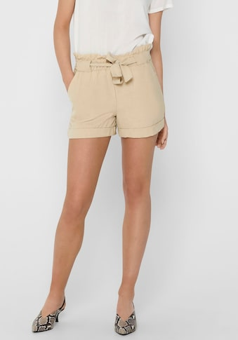Only Shorts »ONLEMBER«, im Paperbag - Style kaufen