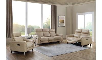 DELAVITA Polstergarnitur »Rhone«, (Set, 3er-Set), 3er-Set bestehend aus einem Sessel,... kaufen