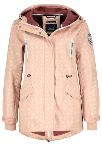 SUBLEVEL Softshelljacke, mit Allover Print kaufen