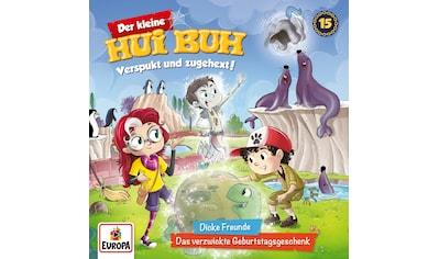 Musik-CD »015/Dicke Freunde/Das verzwickte Geburtstagsgesc / kleine Hui Buh,Der« kaufen