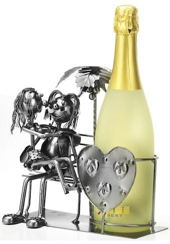locker Weinflaschenhalter »Liebespaar« kaufen