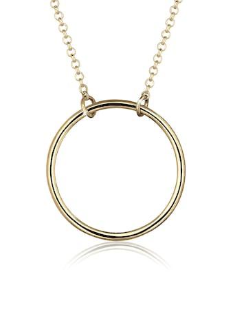 Elli Kette mit Anhänger »Kreis Rund Geo Minimal 925 Sterling Silber« kaufen