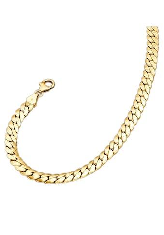 Firetti Goldkette »in Deutschpanzerkettengliederung«, poliert / oval / halbmassiv kaufen