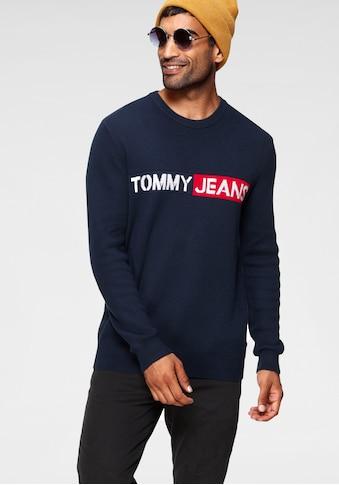TOMMY JEANS Strickpullover »TJM BOLD LOGO SWEATER« kaufen