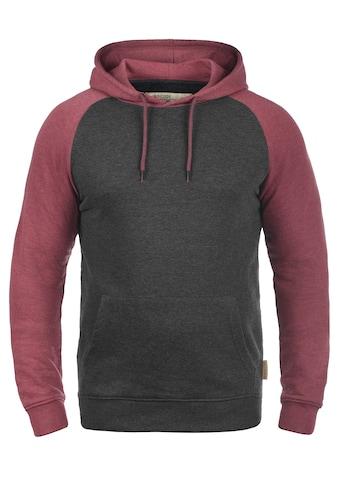 Indicode Hoodie »Elliot«, Kapuzensweatshirt im Baseball-Look kaufen