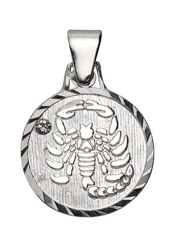 Firetti Sternzeichenanhänger »runde Form, diamantiert«, mit Kristallstein kaufen