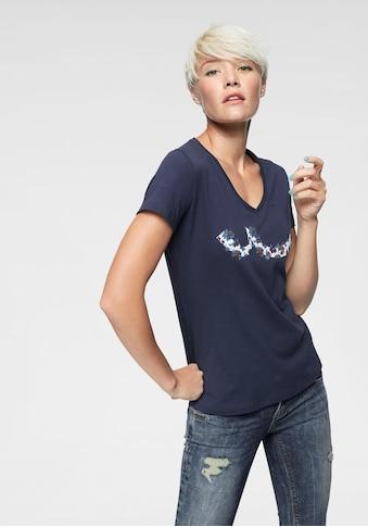 LTB T-Shirt »WIYOLA«, mit Logo-Print kaufen
