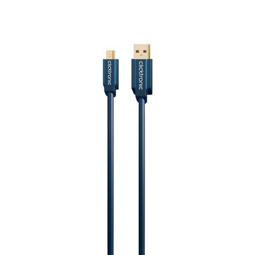 Clicktronic Mini USB 2.0 Adapterkabel