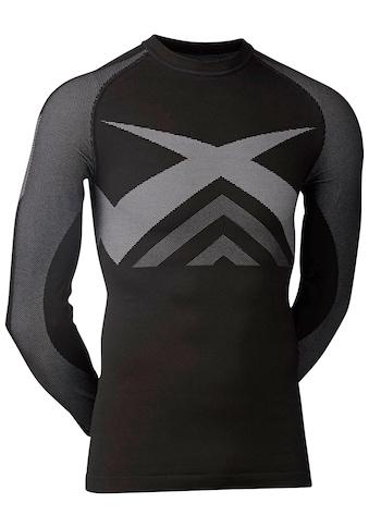 Kübler Funktionsshirt »Funktionsunterhemd«, schwarz-grau kaufen