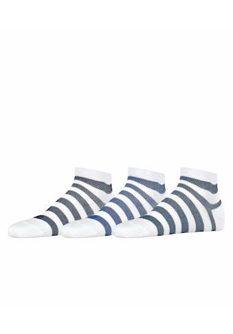 Esprit Sneakersocken »Mesh Stripe 3-Pack«, (3 Paar), aus Biobaumwolle kaufen