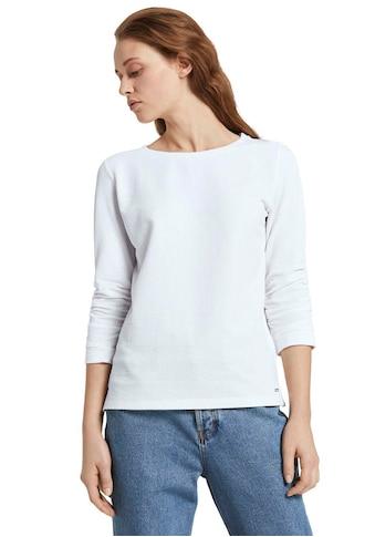 TOM TAILOR Denim Sweatshirt, mit gerafftem Ärmel kaufen