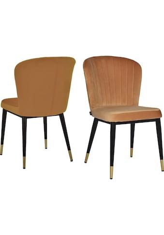 Leonique Esszimmerstuhl »Dinan«, 2er-Set mit gepolstertem Sitz und Rückenlehne, modernes Design kaufen