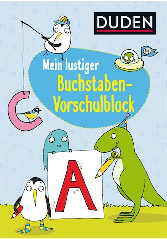 Buch »Mein lustiger Buchstaben-Vorschulblock / Christina Braun, Lucie Göpfert« kaufen