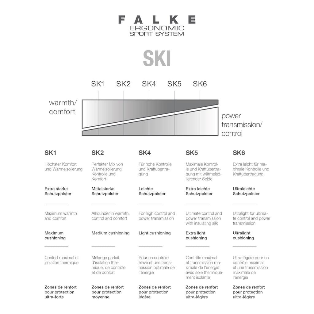 FALKE Skisocken »SK2 Cashmere Skiing«, (1 Paar), mit hochwertigem Kaschmir