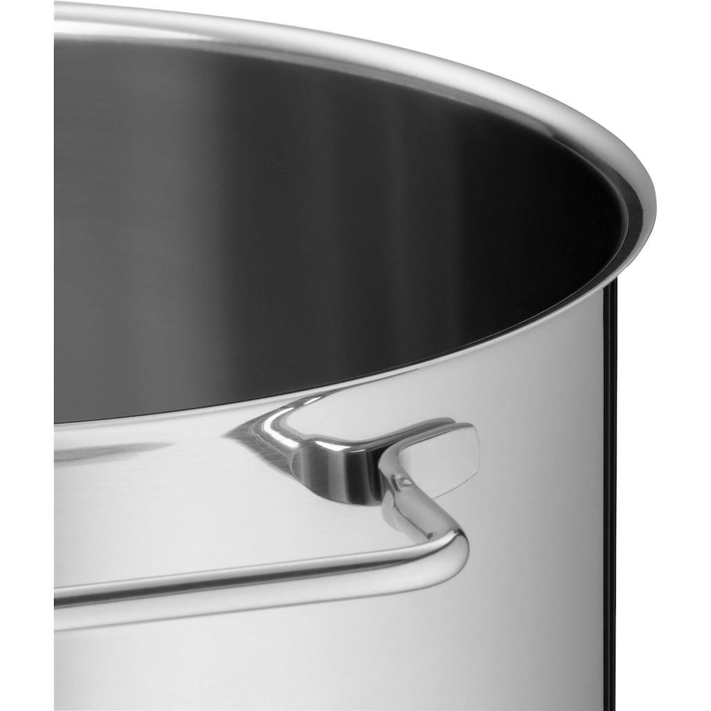 WMF Dampfgartopf, Cromargan® Edelstahl Rostfrei 18/10, mit Metalleinsatz, Induktion