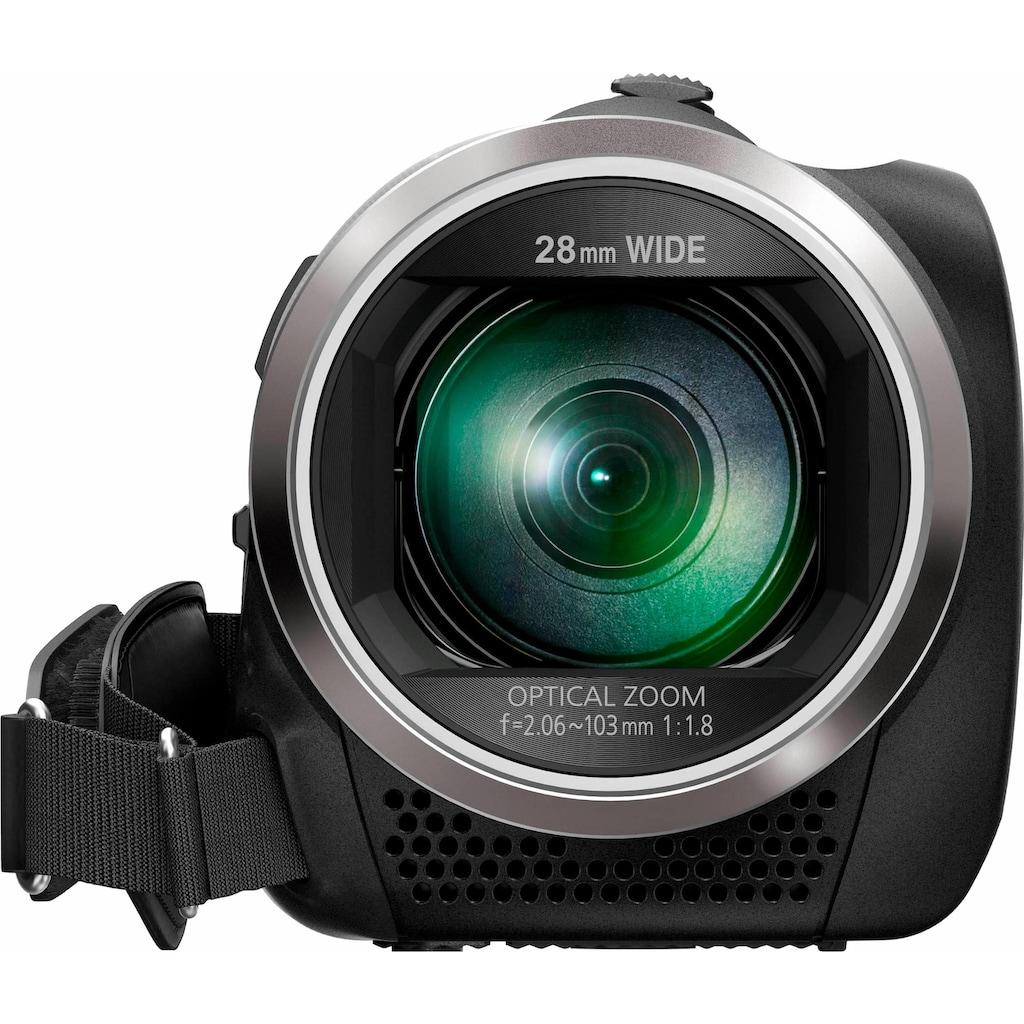 Panasonic Camcorder »HC-V180EG-K«, Full HD, 50x opt. Zoom, Bildstabilisator