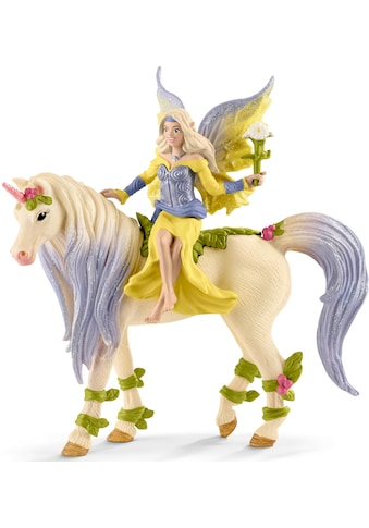 """Schleich® Spielfigur """"bayala, Sera mit Blüten - Einhorn (70565)"""" kaufen"""
