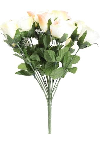 Botanic-Haus Kunstblume »Rosenstrauß mit Schleierkraut« kaufen