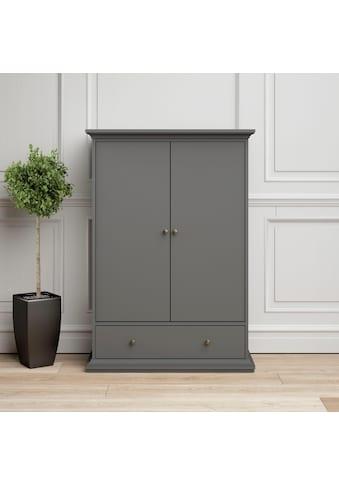 Home affaire Kleiderschrank »Paris«, mit 2 Schubladen, in romatischer Landhausoptik kaufen