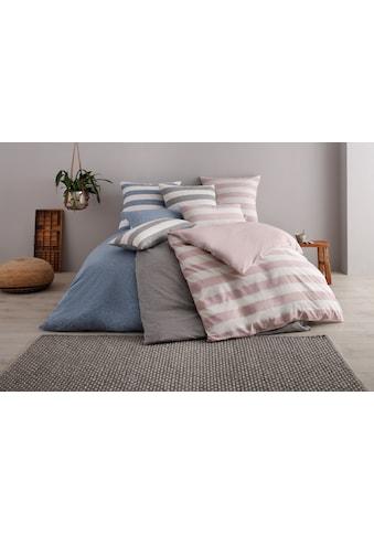 OTTO products Wendebettwäsche »Jannis«, in Melange-Optik aus zertifizierter Bio- Baumwolle kaufen