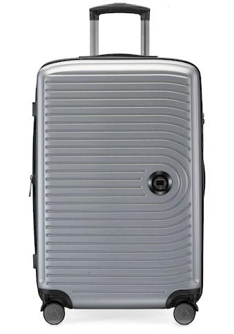Hauptstadtkoffer Hartschalen-Trolley »Mitte, silberfarben, 68 cm«, 4 Rollen kaufen
