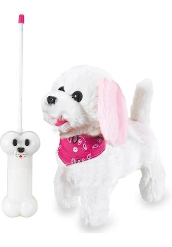 Jamara Kuscheltier »JAMARA KIDS Plüschhund Trixi, 27 MHz« kaufen