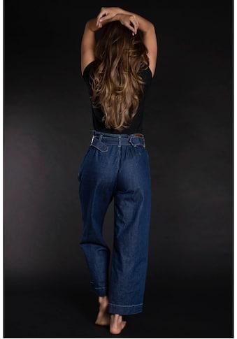 Please Jeans High-waist-Jeans »P 0J3«, im weitem Marlene-Look kaufen