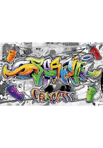 CONSALNET Fototapete »Buntes Graffiti«, Papier, in verschiedenen Größen kaufen
