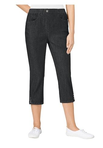 Classic Basics Capri - Jeans mit Rundum - Dehnbund kaufen