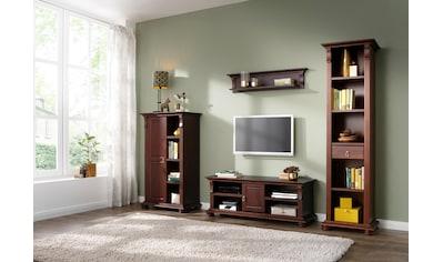 Home affaire Wohnwand »Mitu«, (Set, 4 St.), aus massiver Kiefer (4-tlg.) kaufen