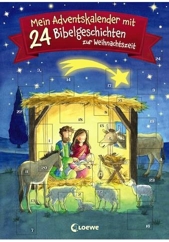 Buch »Mein Adventskalender mit 24 Bibelgeschichten zur Weihnachtszeit / Amelie Benn,... kaufen